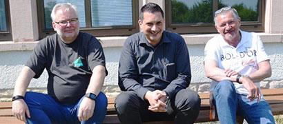 Weikko Müller, Alexander Chatzigeorgiou, Stefan Deck